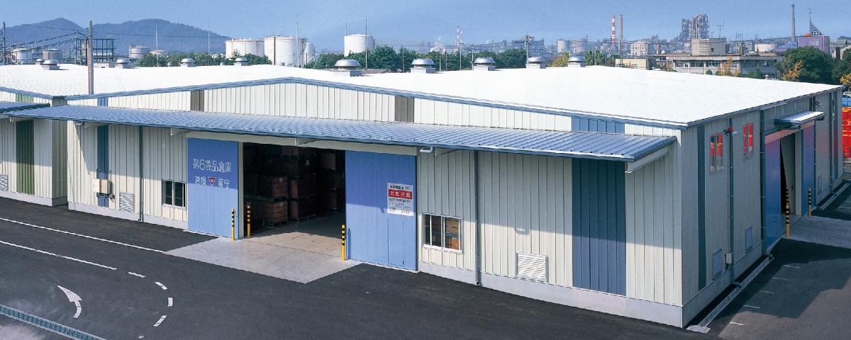 システム建築の倉庫