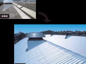 WKカバー工法(屋根改修システム)