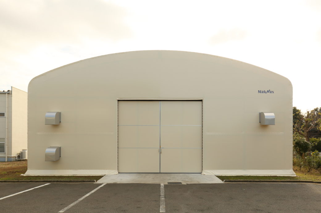 固定式テント倉庫