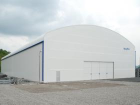 大型 固定式テント倉庫