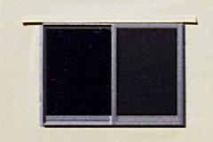 引き違い窓(アルミ製)