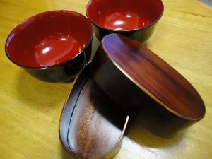 木曽漆器&お弁当箱
