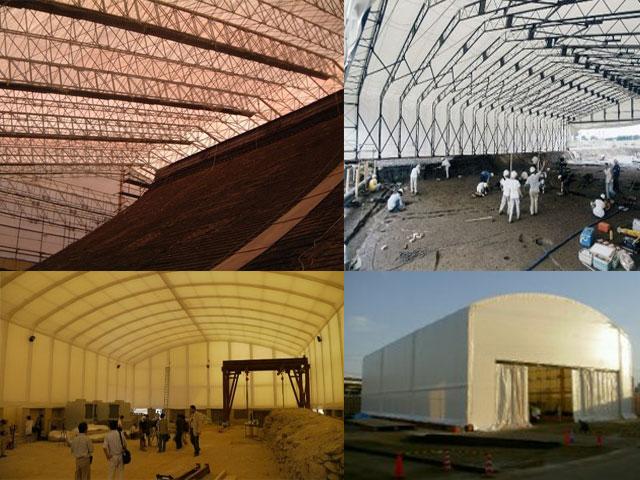 建設工事用レンタルテント